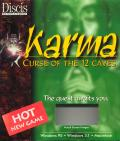 Karma: Curse of the 12 Caves Macintosh Front Cover
