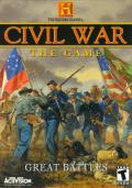 The History Channel: Civil War - Great Battles Windows Front Cover