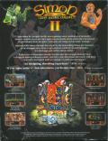 Simon the Sorcerer II: The Lion, the Wizard and the Wardrobe Windows Back Cover