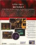 Quest for Glory V: Dragon Fire Windows Back Cover