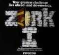 Zork: The Great Underground Empire Apple II Inside Cover
