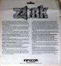 Zork: The Great Underground Empire Apple II Back Cover