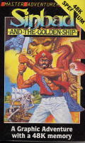 Sinbad & the Golden Ship ZX Spectrum Front Cover