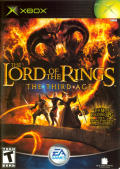 The Lord of the Rings: The Third Age Xbox Front Cover