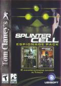 Tom Clancy's Splinter Cell: Espionage Pack Windows Front Cover