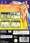 Beach Spikers: Virtua Beach Volleyball GameCube Back Cover