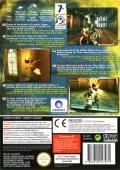 Prince of Persia: The Sands of Time GameCube Back Cover