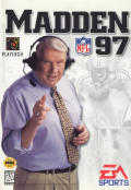 Madden NFL 97 Genesis Front Cover