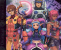 Phantasy Star Online Dreamcast Inside Cover Jewel Case