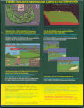 PGA Tour Golf Amiga Back Cover