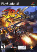 Jak X: Combat Racing PlayStation 2 Front Cover