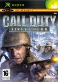 Call of Duty: Finest Hour Xbox Front Cover