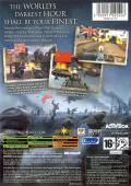Call of Duty: Finest Hour Xbox Back Cover
