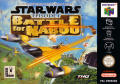Star Wars: Episode I - Battle for Naboo Nintendo 64 Front Cover
