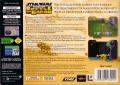 Star Wars: Episode I - Battle for Naboo Nintendo 64 Back Cover