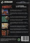 Zombies Ate My Neighbors Genesis Back Cover