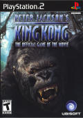 Peter Jackson's King Kong: The Official Game of the Movie PlayStation 2 Front Cover