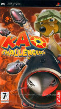 Kao Challengers PSP Front Cover