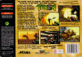 Turok: Dinosaur Hunter Nintendo 64 Back Cover