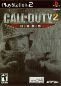 Call of Duty 2: Big Red One (Collector's Edition) PlayStation 2 Front Cover
