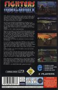Fighters Megamix SEGA Saturn Back Cover