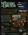The Mystery of the Druids Windows Back Cover