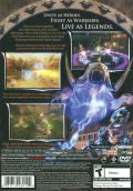 Gauntlet: Seven Sorrows PlayStation 2 Back Cover