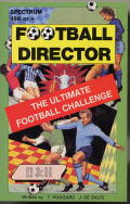 Football Director ZX Spectrum Front Cover
