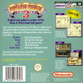 Game & Watch Gallery 2 Game Boy Color Back Cover