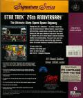 Star Trek: 25th Anniversary DOS Back Cover