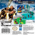 The Chronicles of Narnia: The Lion, the Witch and the Wardrobe Game Boy Advance Back Cover