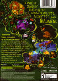Psychonauts Xbox Back Cover