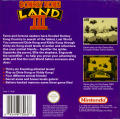 Donkey Kong Land III Game Boy Back Cover