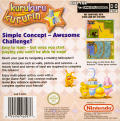 Kuru Kuru Kururin Game Boy Advance Back Cover