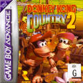 Donkey Kong Country 2: Diddy's Kong Quest Game Boy Advance Front Cover