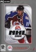 NHL 2004 Windows Front Cover