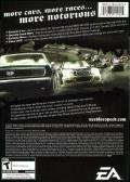 Need for Speed: Most Wanted (Black Edition) Windows Back Cover