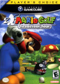 Mario Golf: Toadstool Tour GameCube Front Cover