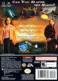 Harry Potter and the Goblet of Fire GameCube Back Cover