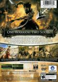 Prince of Persia: The Two Thrones Xbox Back Cover