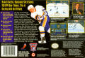 Brett Hull Hockey 95 SNES Back Cover