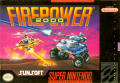 Firepower 2000 SNES Front Cover