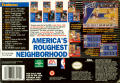 NBA Showdown SNES Back Cover