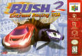 Rush 2: Extreme Racing USA Nintendo 64 Front Cover
