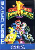 Mighty Morphin Power Rangers Genesis Front Cover