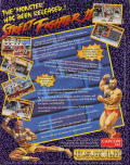 Street Fighter II Amiga Back Cover
