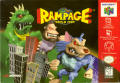 Rampage World Tour Nintendo 64 Front Cover