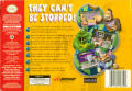 Rampage World Tour Nintendo 64 Back Cover