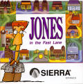 Jones in the Fast Lane: CD-ROM DOS Other Jewel Case - Front