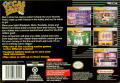 Vegas Stakes SNES Back Cover